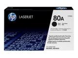 Cartouche d'impression noire LaserJet 80A (toner HP CF280A)