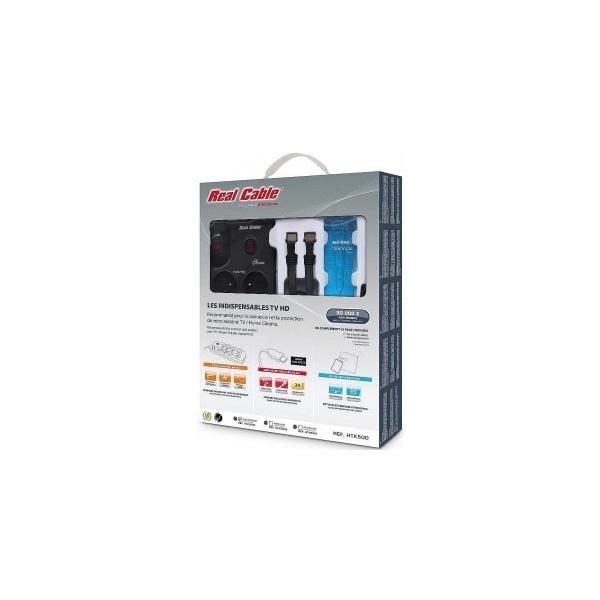 real cable htk500 kit de nettoyage multiprise 8 prises. Black Bedroom Furniture Sets. Home Design Ideas