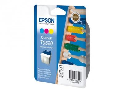 Cartouche d'impression jet d'encre Couleurs T052 (Epson C13T05204010)