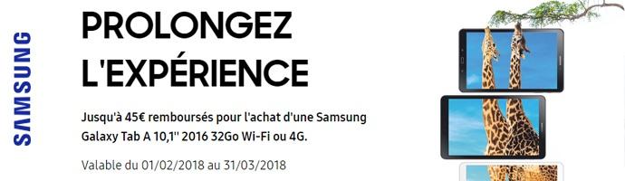 Samsung : Prolonger l'expérience