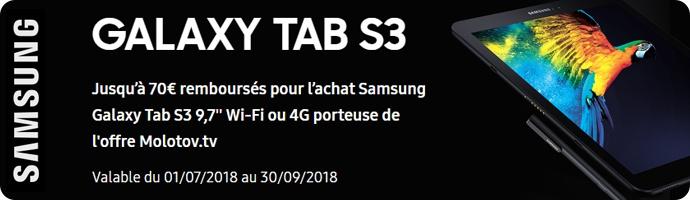 Samsung : GALAXY TAB S3