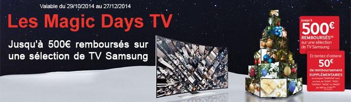 Samsung : les magic days