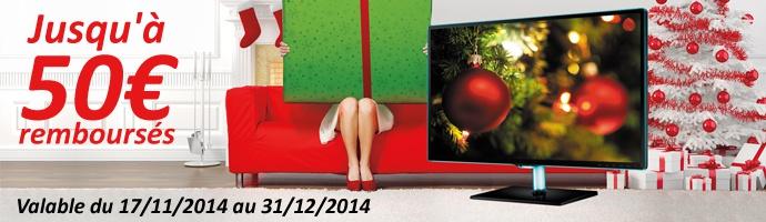 Samsung : Vivez Noël en grand, très grand