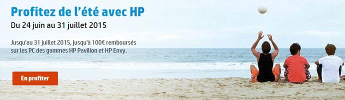 Profitez de l'été avec HP