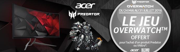 Acer Predator : OverWatch offert