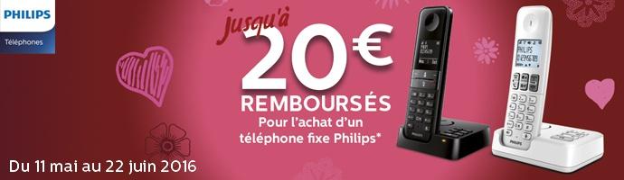 Philips : 20 € remboursés sur un téléphone