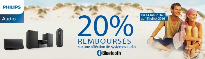 Philips : 20 % remboursés sur l'audio