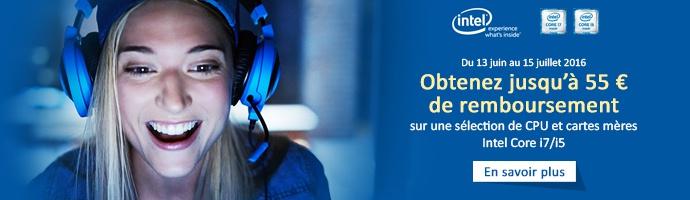 Intel : Cashback
