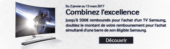 Samsung : Combinez l'excellence
