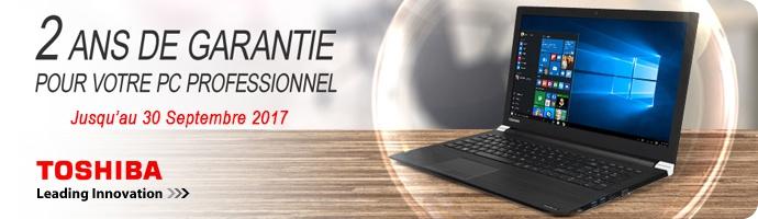 2 ans de garantie pour votre PC Pro
